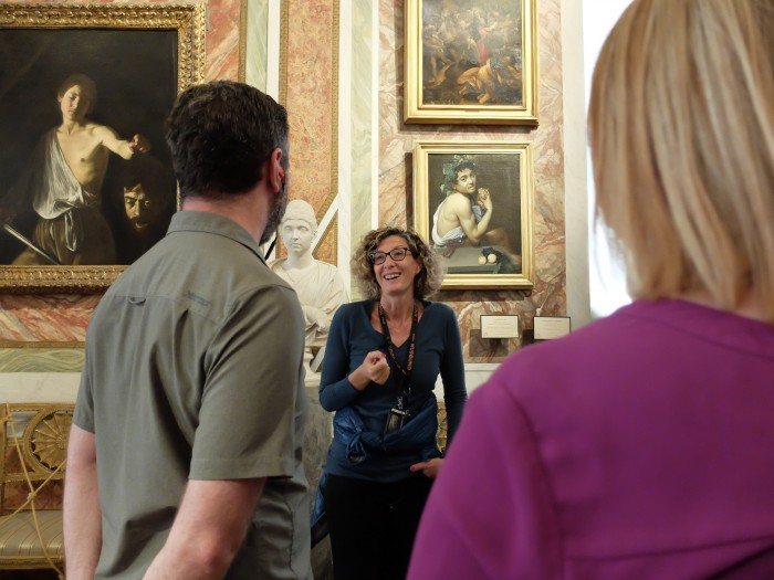 Our Context guide at the Borghese studied with one of Italy's greatest experts on Caravaggio