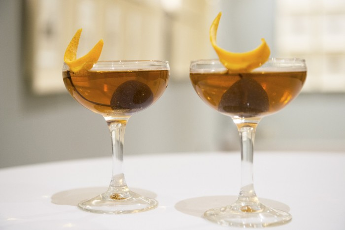 The signature cocktail invented for the occasion