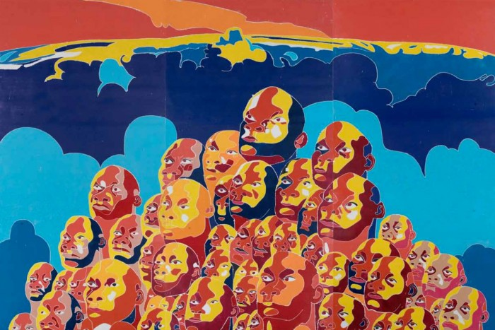 FAng LIjUn Untitled, woodblock 2016