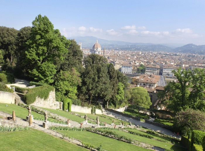 Exhibition entry includes access to the Bardini Garden