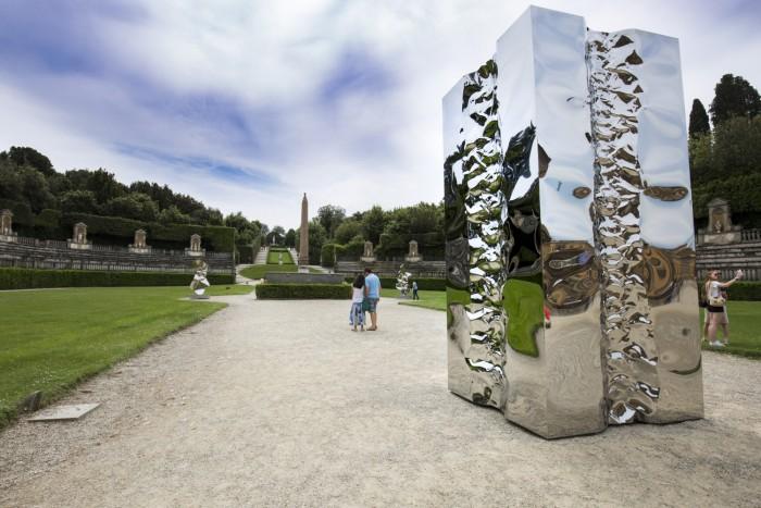 An iconic piece in the Boboli Gardens