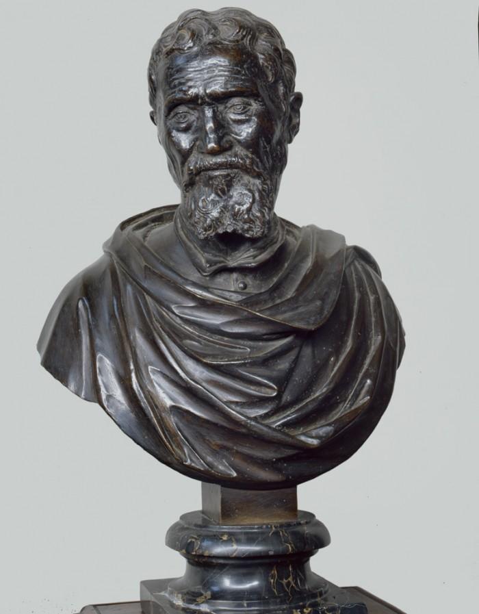 Danielle da Volterra, Bust of Michelangelo, Casa Buonarroti