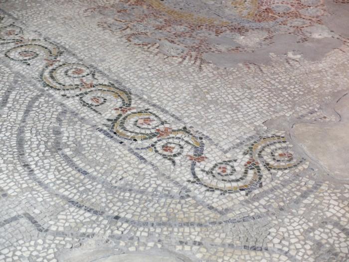 A roman mosaic