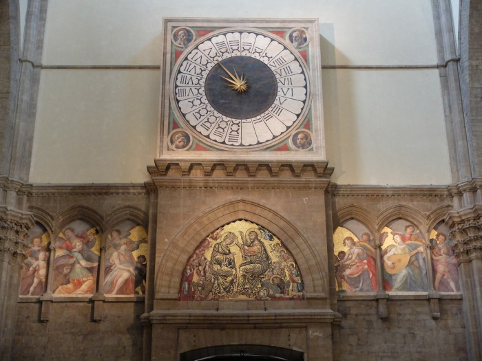 The clock that runs on Italian time