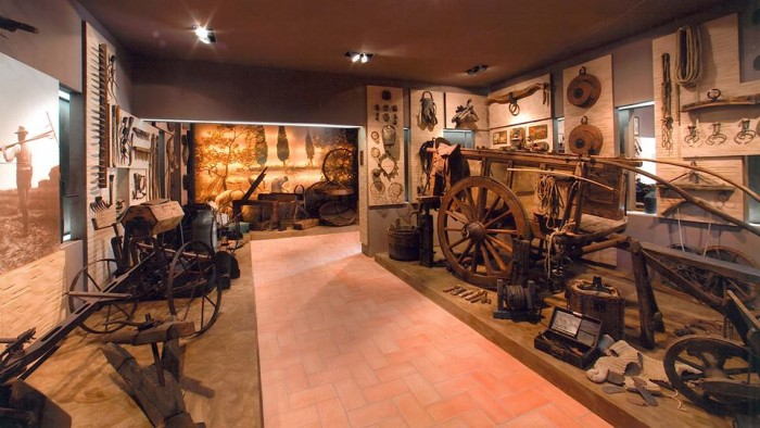 Rocca di Montemassi's Museum of rural civilization