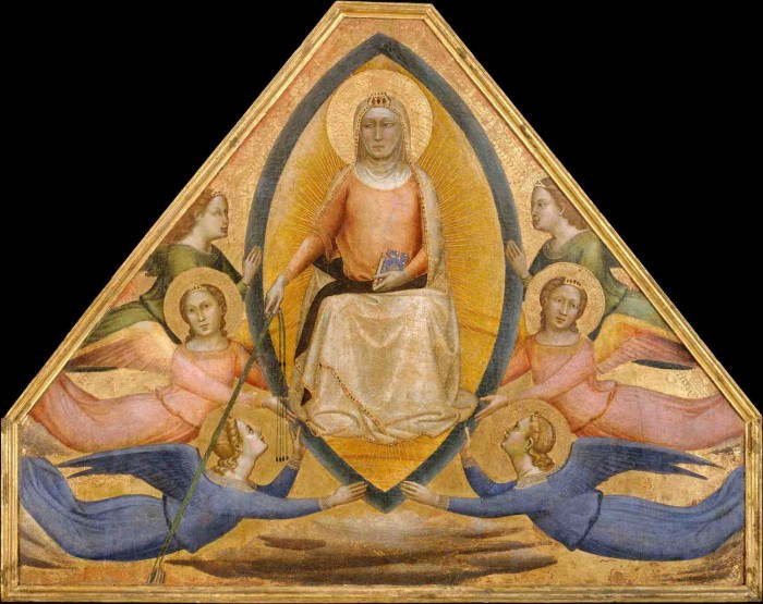 Daddi, Assumption of the Virgin, NYC Met Museum