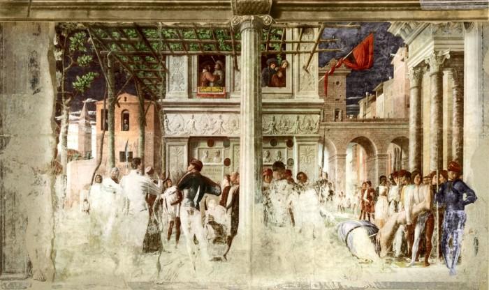 Mantegna, Ovetari Chapel | Photo Wikipedia