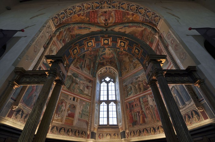 Benozzo Gozzoli's frescoes in Montefalco