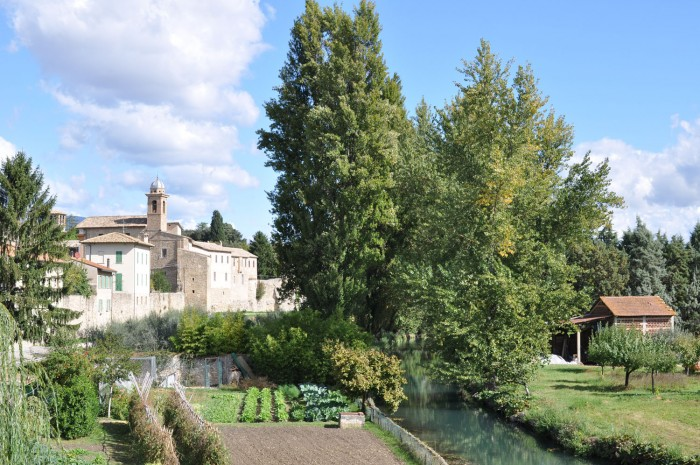 Bevagna and its river