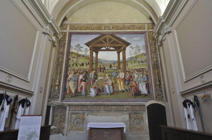 Adoration of the Magi, Perugino