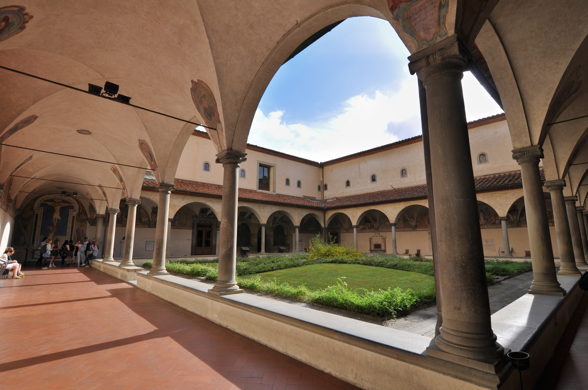 Courtyard of San Marco