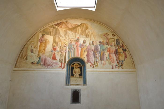 Adoration of the Magi in Cosimo's cella