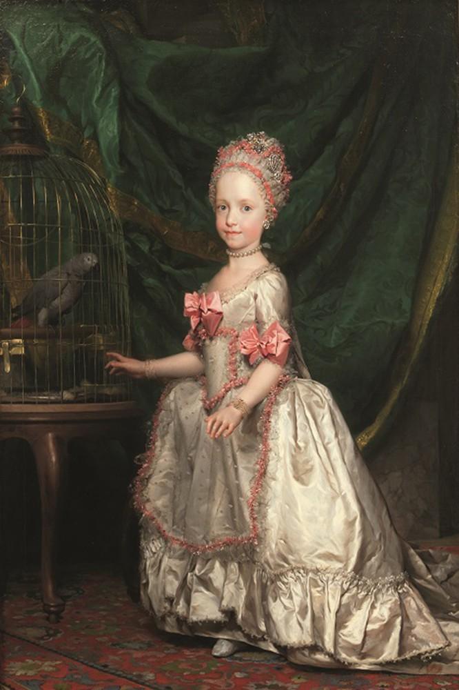 Anton Raphael Mengs, Ritratto di Maria Teresa Giuseppa Carlotta Giovanna di Asburgo-Lorena, Madrid, Museo del Prado