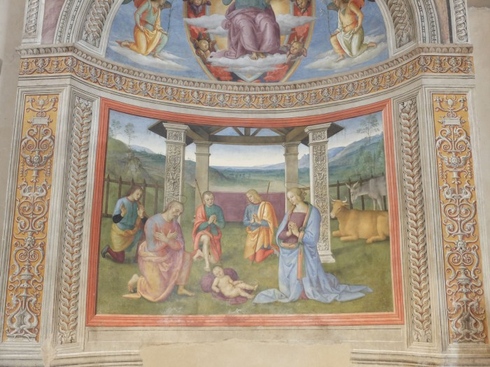 Perugino fresco in Montefalco