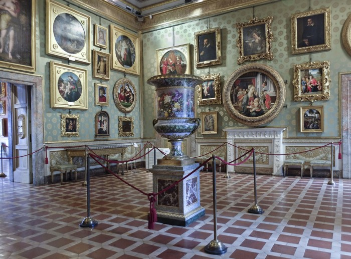 A room in the Galleria Palatina, Pitti Palace