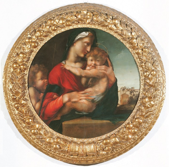 Berruguete, Madonna and Child after Donatello, Uffizi
