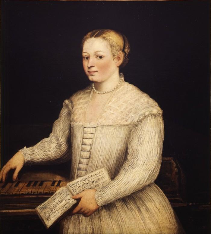 Marietta Tintoretto, self portrait