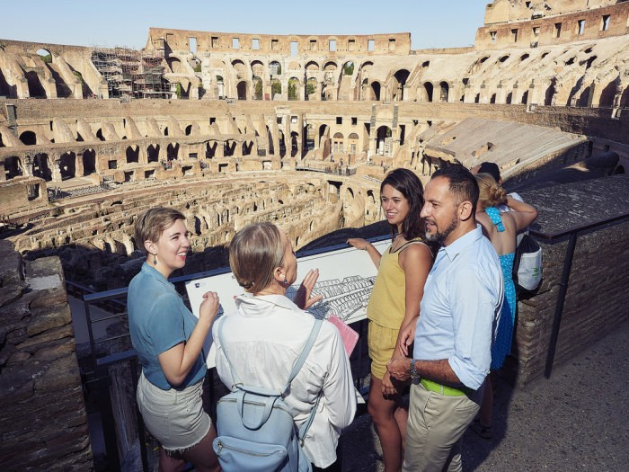Touring the Colosseum with Context Travel