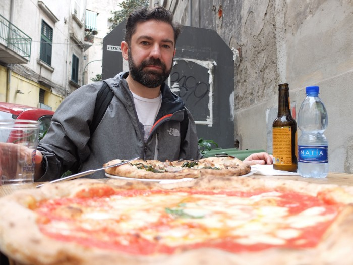 One of the best pizzas in Naples