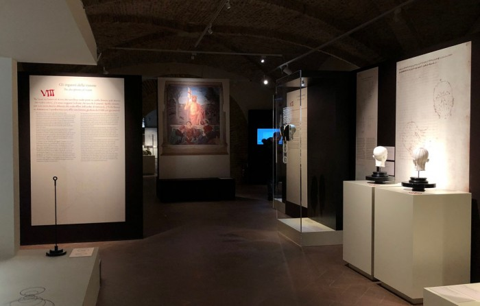 Display of Piero exhibit