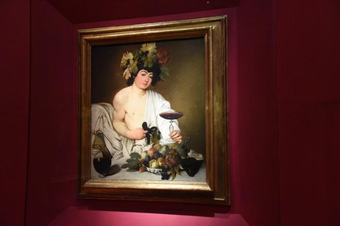 Caravaggio's Bacchus at the Uffizi