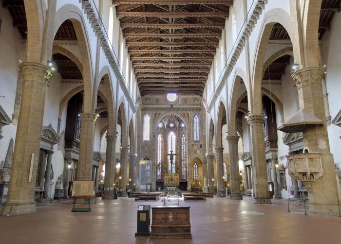 The Church of Santa Croce (empty very early in the morning)