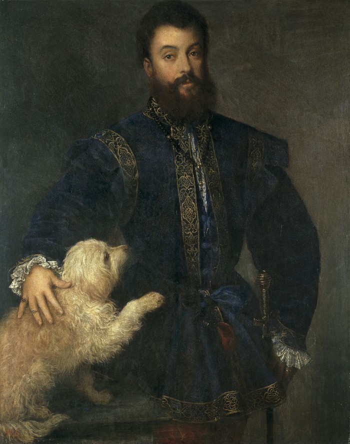 Titian, Portrait of Federico II Gonzaga, Prado, Madrid