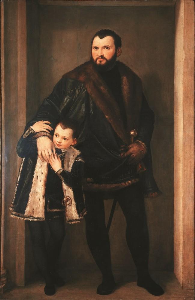 Veronese, Veronese, Ritratto di Giuseppe da Porto