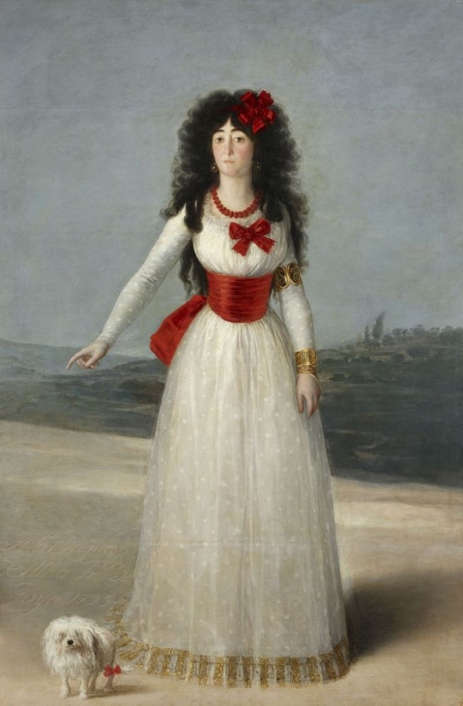 Goya, the White Dutchess