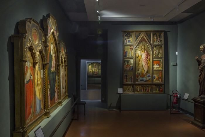 The room dedicated to Andrea del Castagno