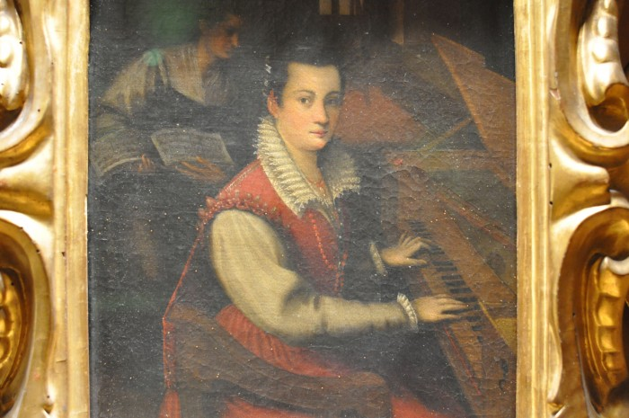 Lavinia Fontana, Self Portrait
