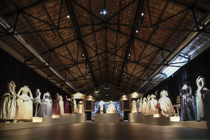 Marie Antoinette costumes at Prato Textile Museum