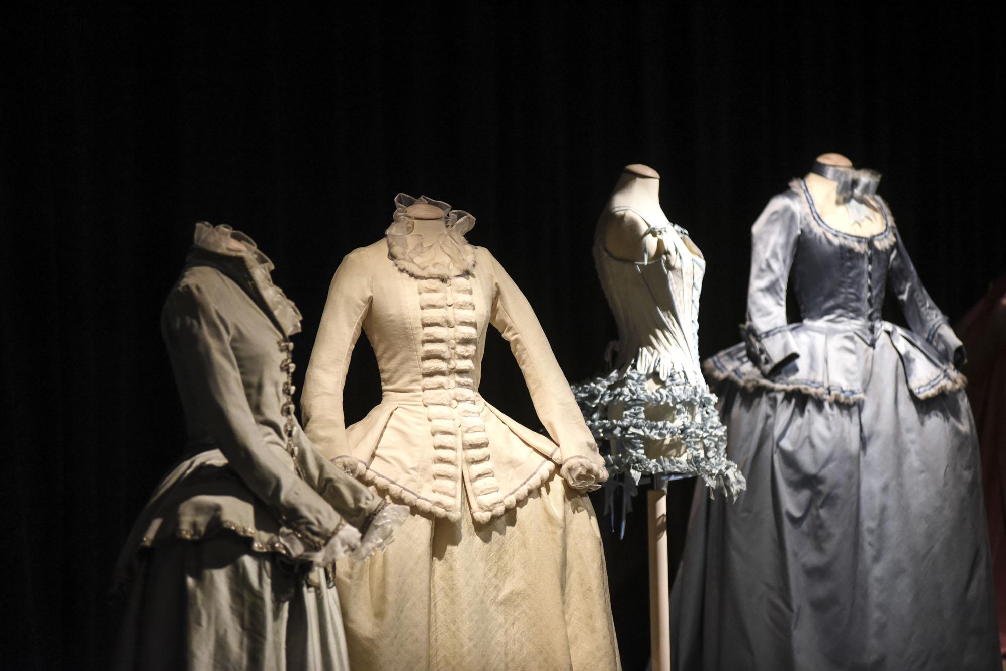 Marie Antoinette Film Costumes at Prato Textile Museum