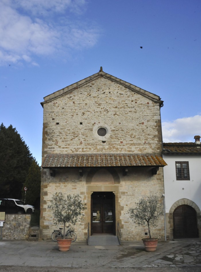 External view of the Oratorio di Santa Caterina in Bagno a Ripoli