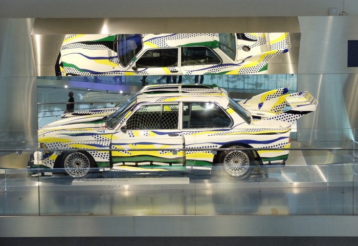 Roy Lichtenstein Art Car