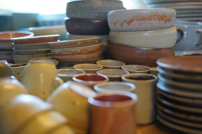 Love these handmade dishes