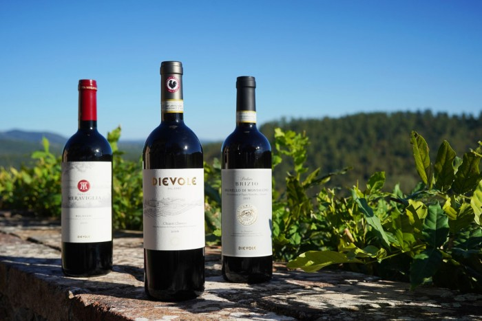 Dievole offers wine from three zones in Tuscany