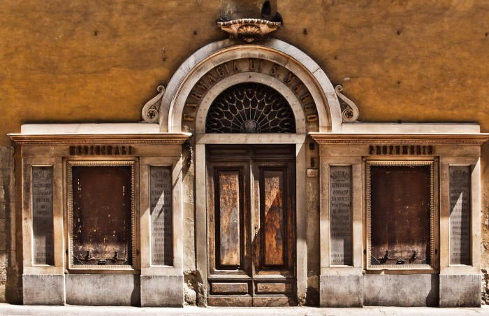 The pharmacy of San Marco has been closed for a few hundred years :)