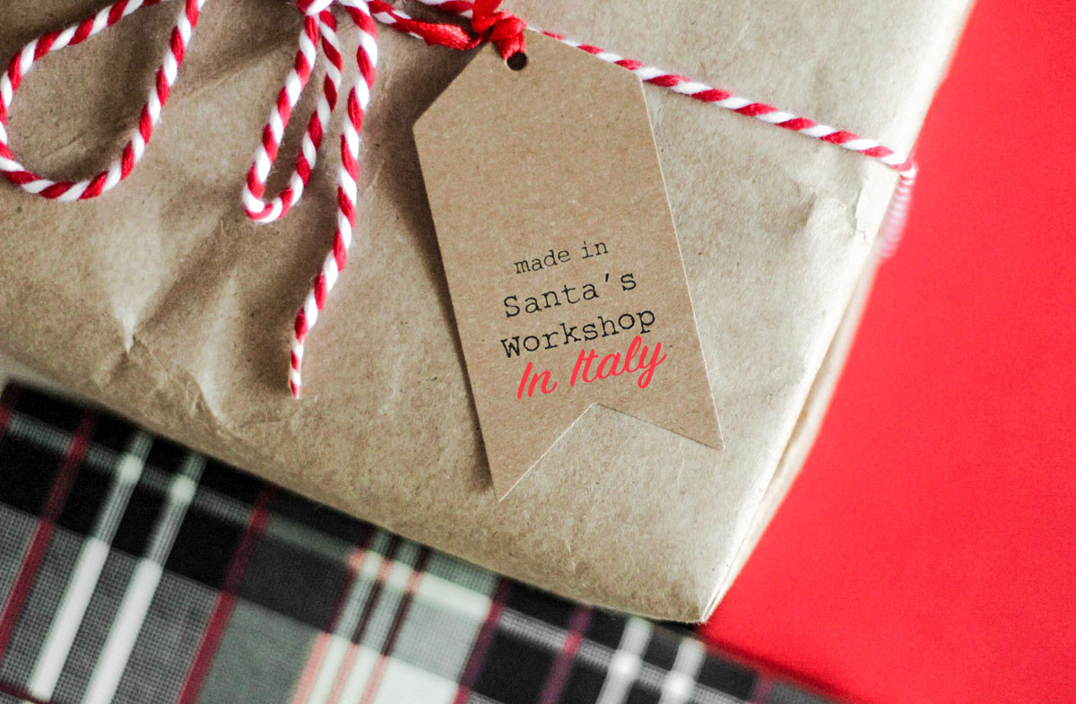 Recyclable packaging is part of a sustainable christmas gift (and an outlet for your creativity)