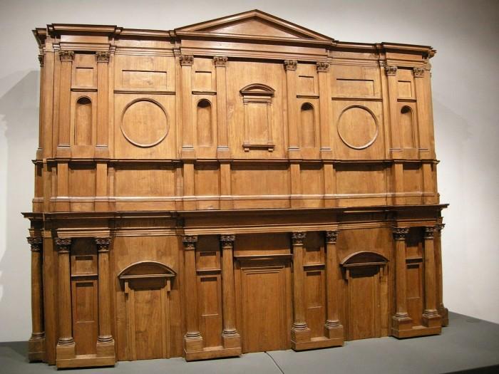 Michelangelo's model for the facade of San Lorenzo | Ph. Wikipedia / Sailko