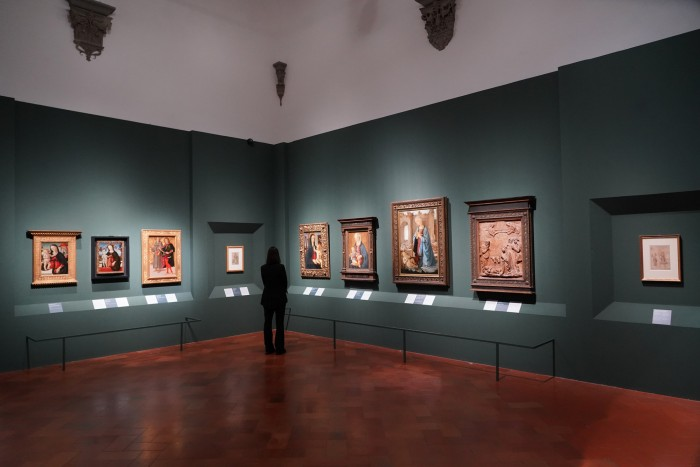 A room dedicated to Verrocchio as painter and teacher