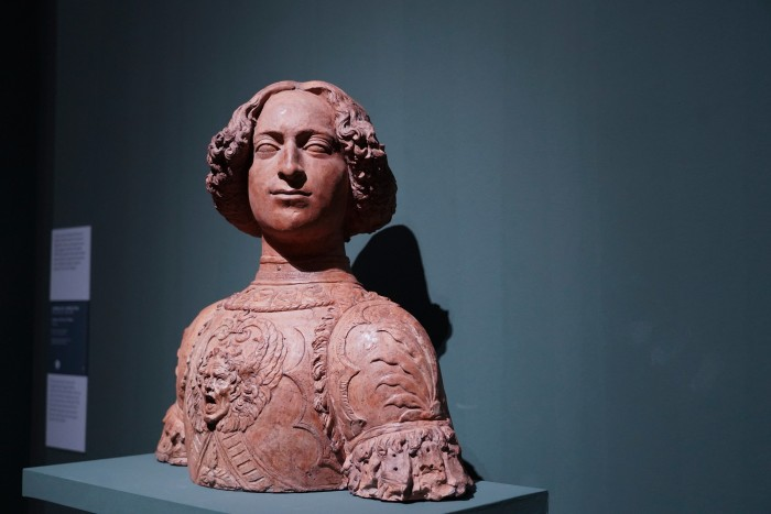 Portrait bust of Giuliano de' Medici by Verrocchio