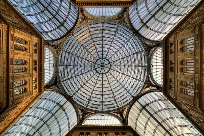 Galleria Umberto I by flickr user Fred Bigio