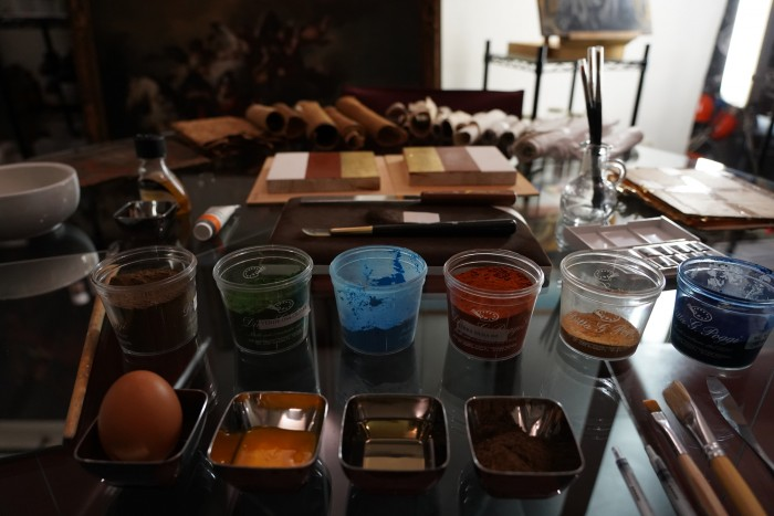 A painter's tools