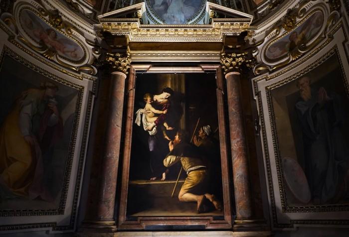 Madonna dei Pellegrini, Sant'Agostino, Rome