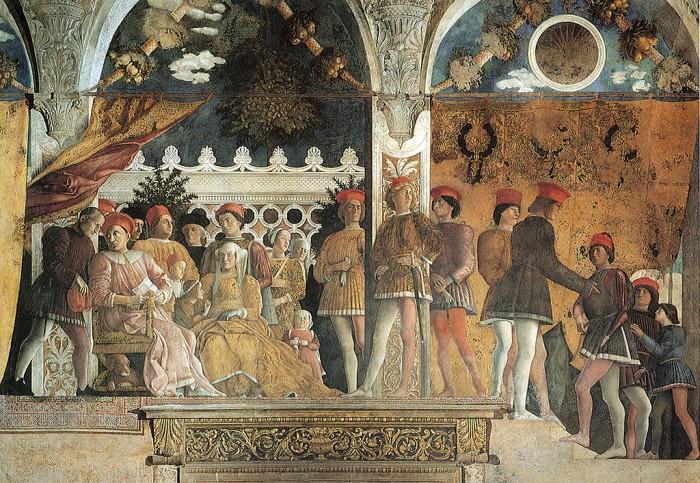 Mantegna, Camera Picta   ph. Wikipedia