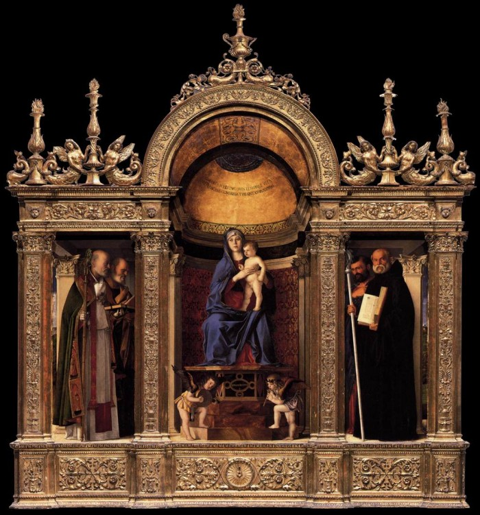 "Giovanni Bellini's ""Madonna and Child with Saints"", Frari 