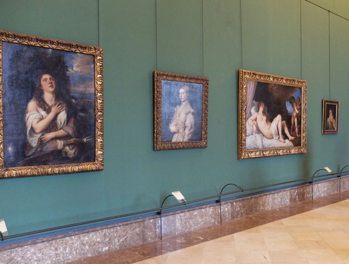 Yes, that IS 3 Titians in a row!