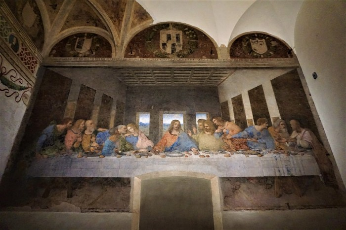Leonardo da Vinci, Last Supper, Milan | Ph. Joy of Museums on Wikipedia