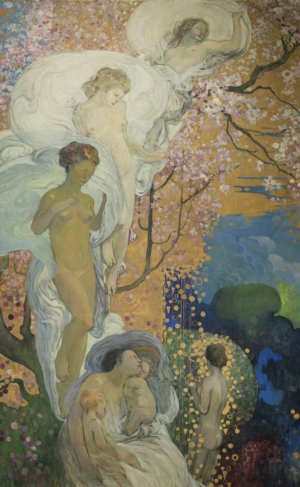 Galileo Chini, La Vita, 1919